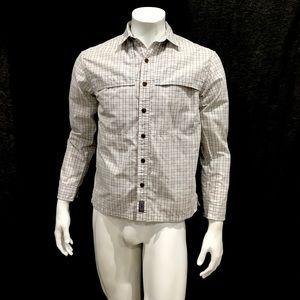 Patagonia Men's Island Hopper White Check Shirt